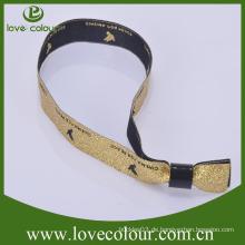 Direktverkauf benutzerdefinierte gewebte Armbänder für Sport