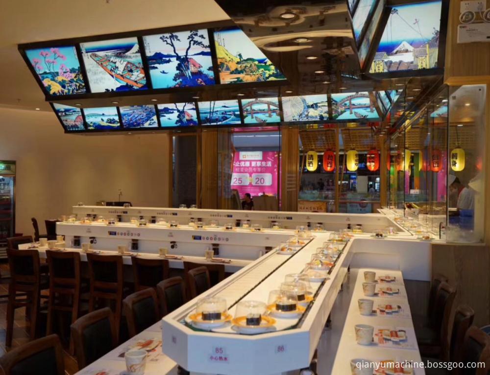 White Sushi Conveyor Belt