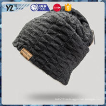 La última capa atractiva del sombrero del knit del estilo del producto imprimió la entrega más rápida