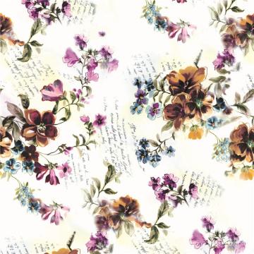Digital Textile Printing Stoff 100% Polyester Stoff (TLD-0063)
