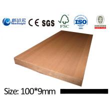 Hochwertige WPC Plank WPC Board für Bank Dustbin Zaun Decking mit SGS ISO CE WPC Wand Panel Verkleidung Dekorative Board Holz Kunststoff Composite Plank Lhma067