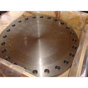 China Steel Blind Pipe Flange Manufacturer