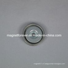 Aimant NdFeB en fer pour acier M5 trous de vis
