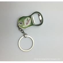 Bulk Verkaufsförderungsgeschenke personalisierte keychain Flaschenöffner