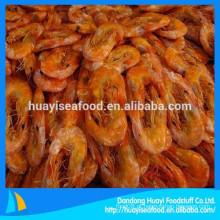 Alta demanda no mercado ultramarino de camarão seco congelado