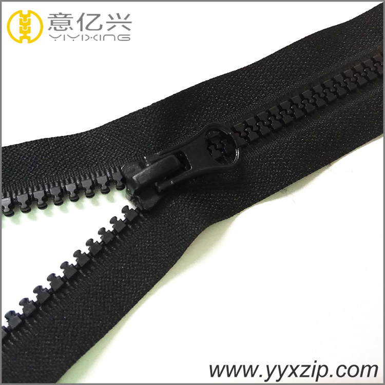 big size plastic zipper