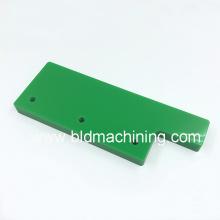 Fresamento fácil de usinagem de material de placa de plástico verde