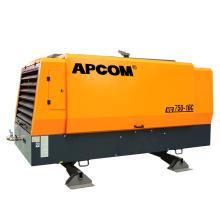 16bar 194kw 260HP portable screw air compressor diesel 750cfm HG750-16C