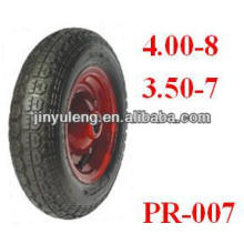 "13""X3.50-7 pneumatic rubber wheelbarrow Tyre"