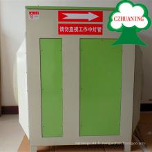 équipement de traitement des gaz résiduaires / machine de purification industrielle de photolyse UV