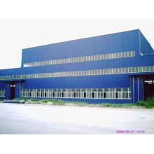 Atelier de cadre préfabriqué de structure en acier de grille d'espace standard élevé
