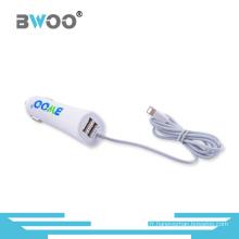 Chargeur de voiture USB universel à 2 ports avec câble pour tous les mobiles
