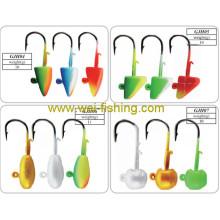Verschiedene Gewicht Qualität Jig Head Angeln Köder
