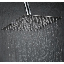 Square Round Stainless Steel Rainfall shower head