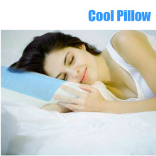 Gel Half Moon Half Cylinder Memory Foam Pillow