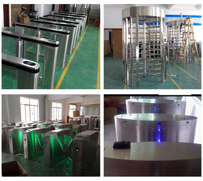 Optical Flap Turnstile
