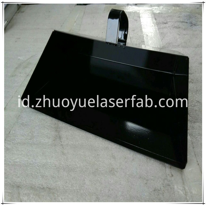 Steel Dustpan with powder coating
