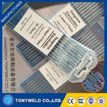 2.0 * 175mm para los electrodos del tungsteno de la barra de la soldadura de Tig El electrodo rojo del tungsteno de WT20