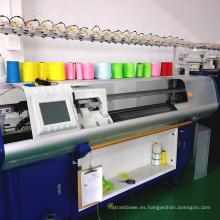 Máquina que hace punto plana del sistema del suéter computarizado automático de la nueva de la marca a estrenar famosa de China