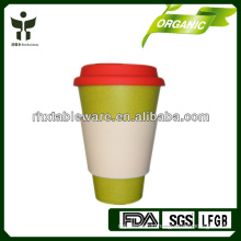 OEM and ODM Eco-Friendly Bamboo Fiber Mug