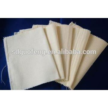 Tecido 100% algodão tecido de lona cinza