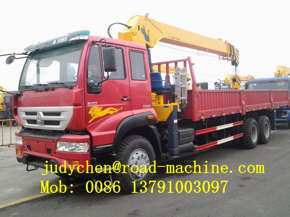 XCMG 7500kgs Truck Mounted Lift Truck Mounted Cranes
