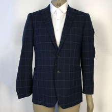 business striped wool blazer suits for men