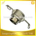 china supplier camlock coupling stainless steel type b, quick coupling type b