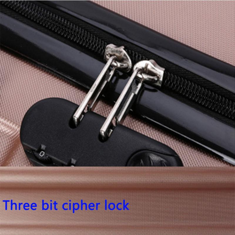 Three bit cipher lock