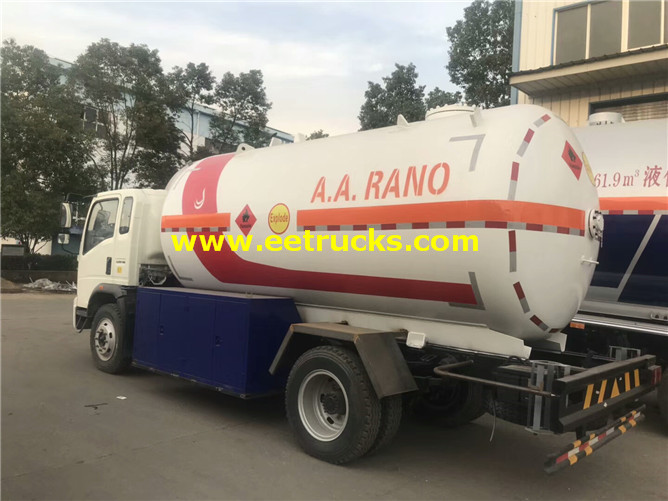 5000 Litres Propane Dispenser Tank Trucks