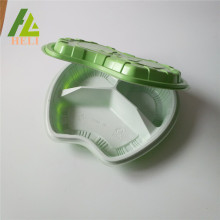 Clamshell Plastic Takeaway Food Tray