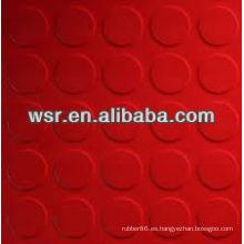 piso de goma moldeado personalizado con servicio del OEM