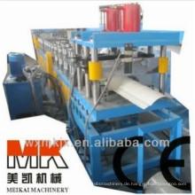 Metalldachfirstkappen-Rolle, die Maschinerie / Herstellungsmaschine / Fertigungsstraße bildet