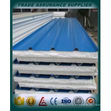 Tôle d'acier ondulé tôle d'acier ondulé galvanisée avec toit en acier