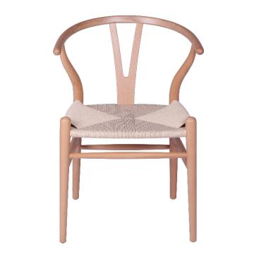 The Wishbone wood chair Y chair replica