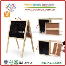 Vente chaude nouveau design ancien chevalet en bois OEM double côtés mini chevalet en bois EZ2037