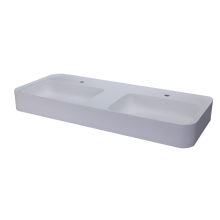Sanitary Ware White Modern Double Wash Basins