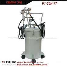 New Type 20L Paint Tank with multifunction spray gun W77A