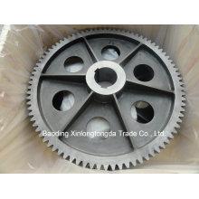 Цилиндрическое зубчатое колесо с ЧПУ
