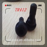 TR412 Passenger car tubeless snap-in tire valves
