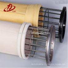 Sac de filtre industriel de PPS pour le collecteur de poussière de jet d'impulsion