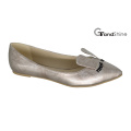Women′s Lovely Pointed Toe Rabbit Casual Ballet Shoes