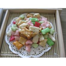 Biscoitos de arroz de lanches de qualidade superior HACCP / ISO em coreano