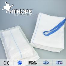 Raio-x detectou esponja de colo de gaze abdominal médica