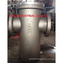 Welding Carbon Steel A106b Basket Strainer