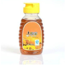 Garrafa de favo de mel de plástico de estimação com tampão de folga sem gotejamento (PPC-PHB-76)