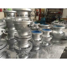 150lb Carbon Steel Wcb Floating Type Flange Ball Valve