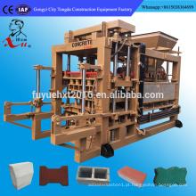 Linha de Produção de Tijolos de Limão de Concreto com Máquina de Motor Auxiliar