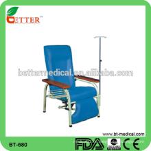 Heißer Verkaufs-Qualitäts-justierbarer medizinischer Krankenhaus-Infusions-Stuhl