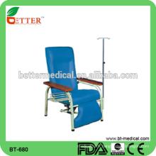 Chaise à infusion d'hôpital médical ajustable haute qualité à vente chaude